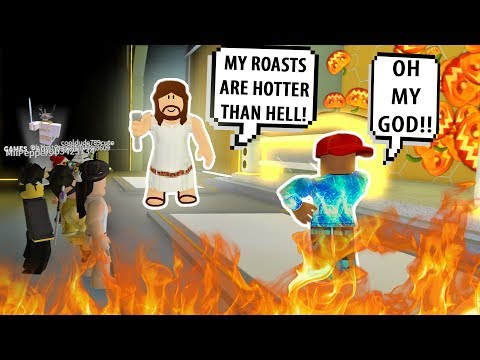 JESUS ROASTED HIM SO BAD! FUNNIEST RAP BATTLES #3! Roblox Auto Rap Battles 2 | Roblox Funny Moments