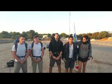 צפו: בני נוער צועדים לירושלים בקריאה להחזיר את הבטחון לתושבי הדרום