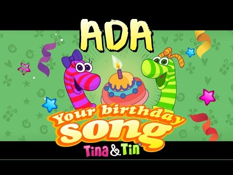 Tina & Tin Happy Birthday ADA