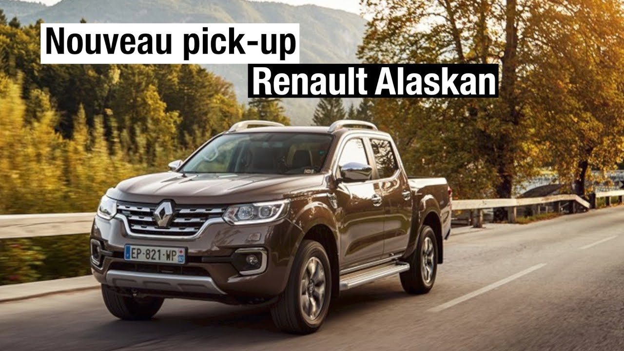 nouveau pick up renault alaskan 2018 youtube. Black Bedroom Furniture Sets. Home Design Ideas