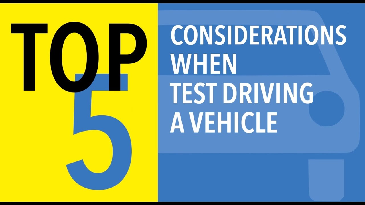 Top 5 Test Drive Tips for Smart Car Shopping - CARFAX - YouTube