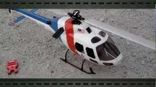 Ecureuil AS355 - PDRM Scale RC