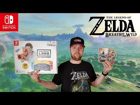 Zelda Breath of the Wild VR Review! (RANT WARNING)