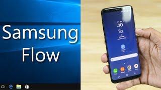 Unlock PC w/ Galaxy Phone's Fingerprint Scanner - Samsung Flow!