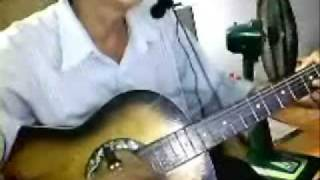 dem hat voi guitar bai xin loi tinh yeu