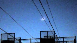 НЛО на жд станцией Бердск.