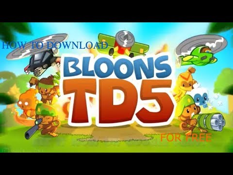 bloons td 5 hack ios download