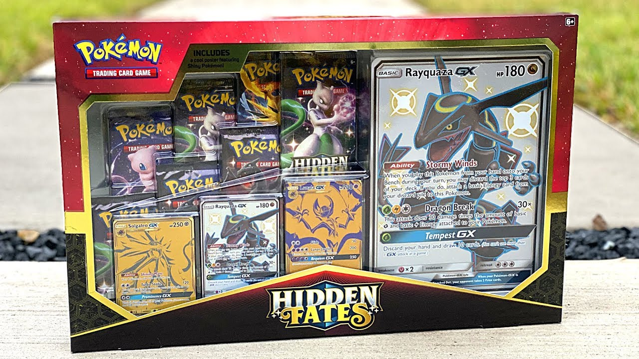 Pokemon Hidden Fates Ultra Premium Collection In Hand Ready To Ship!