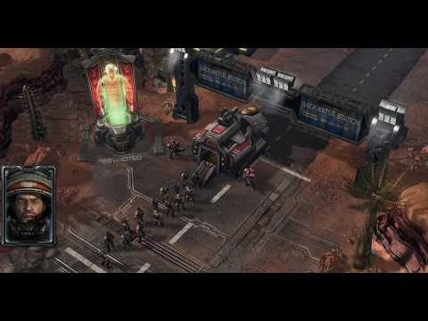 Starcraft 2 - Mar Sara - Mission #1 - Liberation Day - Single Player Campaign Walkthrough
