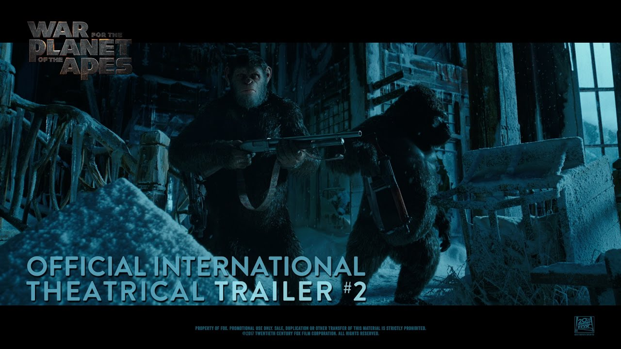 Download War For The Planet Of The Apes [Official International Theatrical Trailer #2 (HD)]