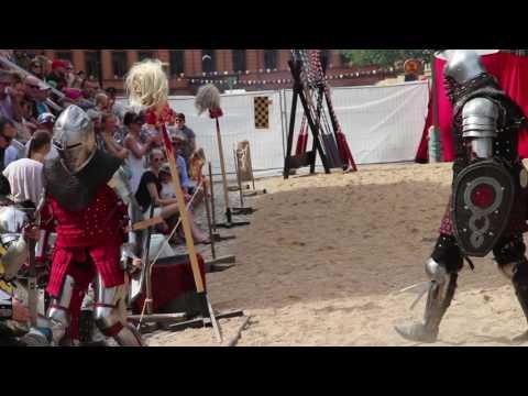 Medieval Combat Sport Finland at Turku Medieval Market