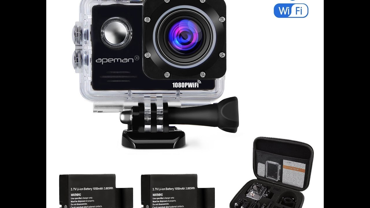 apeman action kamera gopro alternative youtube. Black Bedroom Furniture Sets. Home Design Ideas