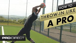 How to master tнe soccer throw in | Learn Football Techniques Tutorial
