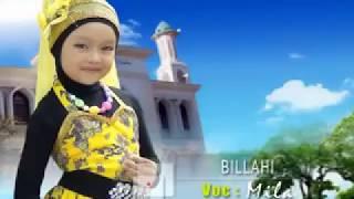 sholawat anak islami mila meylani billahi