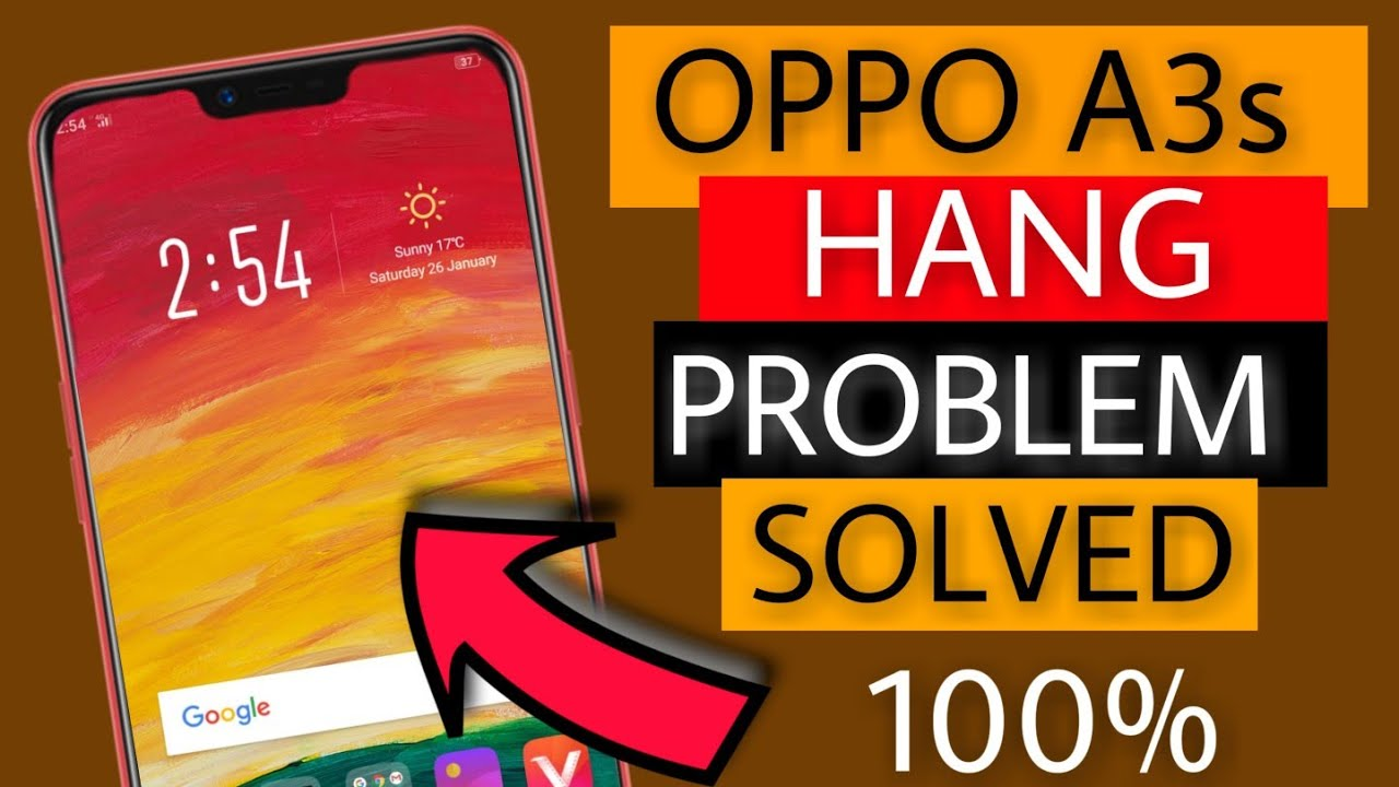 Oppo A3s Hang Problem Solved 100% | Fix Hanging Problem Of Oppo A3s |  Faisal Alam Official