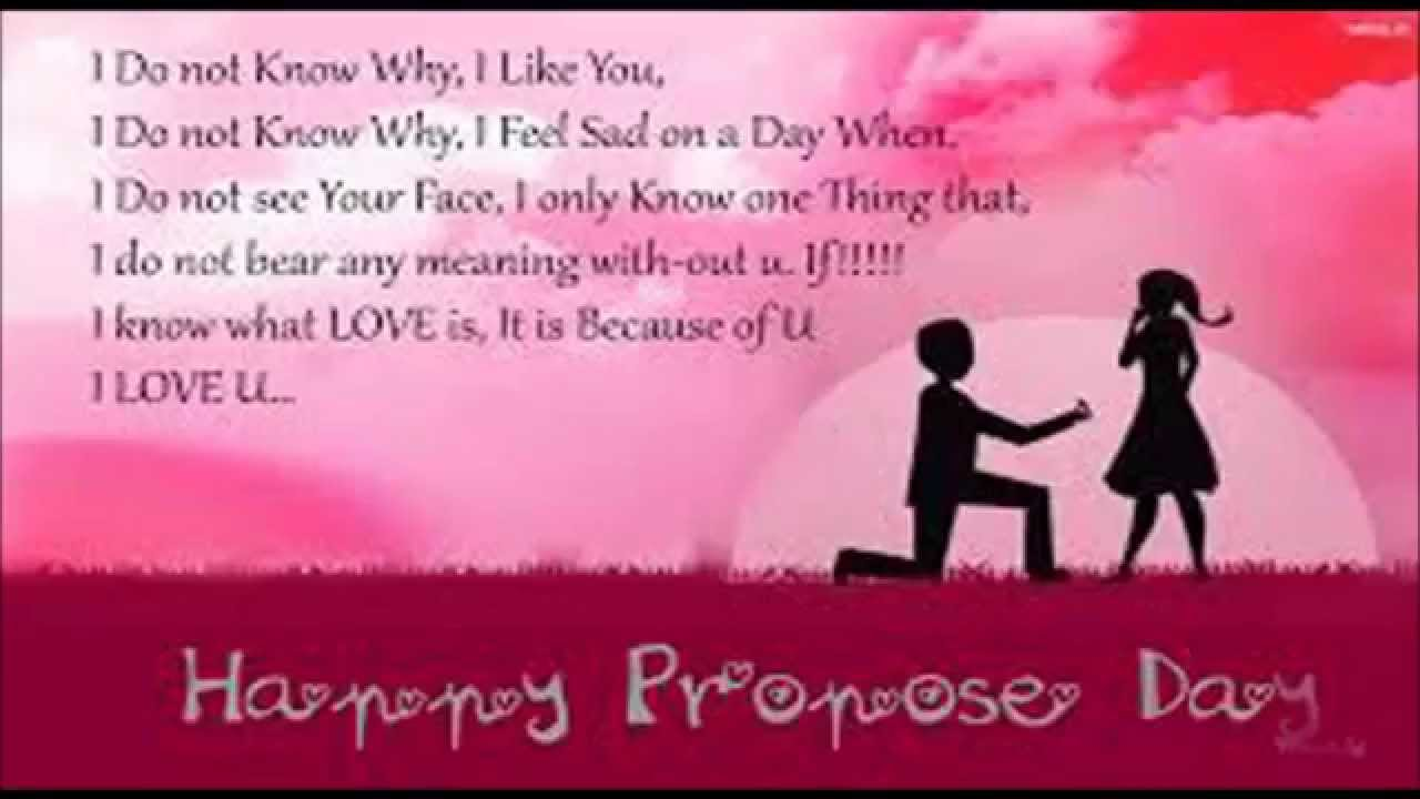 beautiful lines to propose a girl