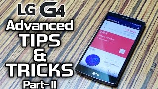 #02 LG G4 TIPS & TRICKS, unique SOFTWARE Features