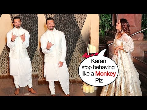 Bipasha Basu Gets EMBARASSED of Husband Karan Singh Grover's WEIRD Behaviour In Front Of Media