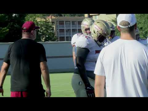 Florida State Seminoles football raw practice video (9/25)
