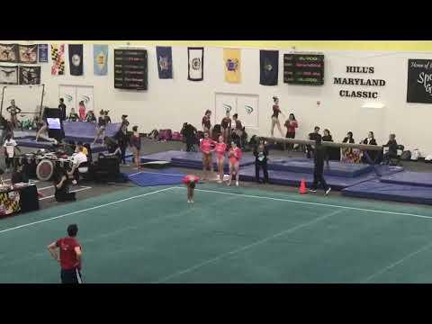 Karina Muñoz- Lv 10 Floor Maryland Classic (9.35) 1/13/18