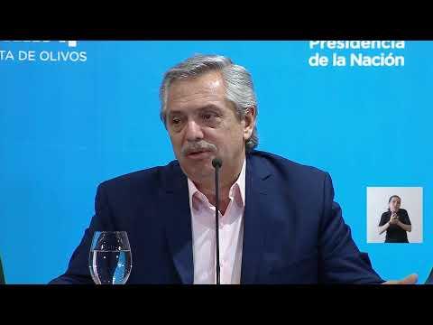 EN VIVO | Reunión interministerial por coronavirus en Olivos - Conferencia de prensa.