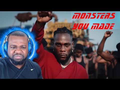 American Reacts To Burna Boy - Monsters You Made (Official Music Video) indir