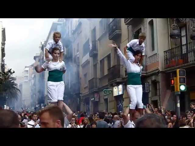 Festa Major de Gracia, Barcelona, August 15th, 2014