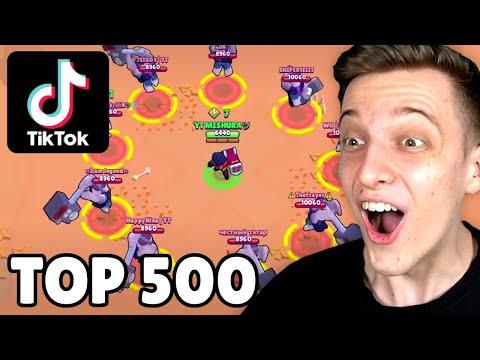 TOP 500 TIKTOK