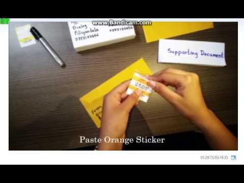 Prepare Parcel for Courier