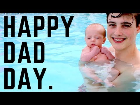 Teen Dads First Fathers Day (Vlog)
