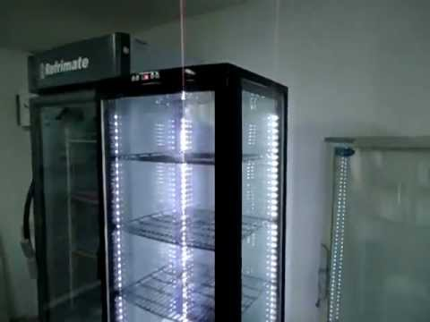 Vitrina 4 caras exhividor de postres iluminaci n led - Iluminar con led ...