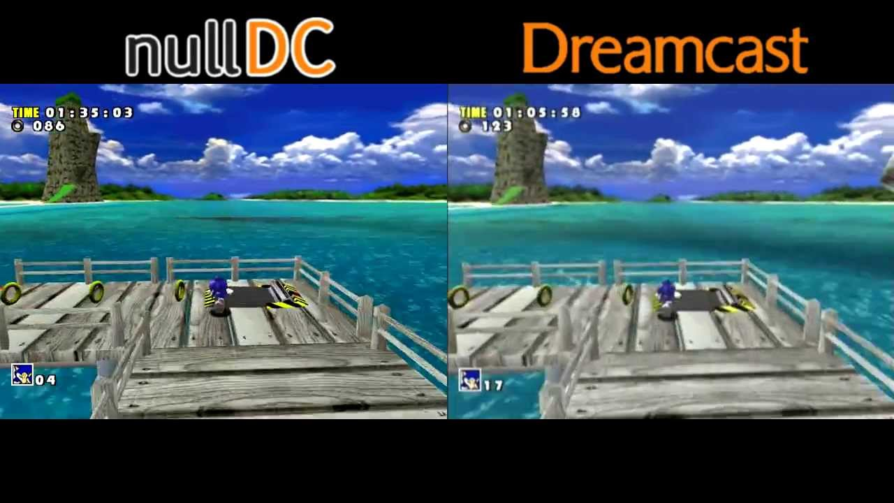 Dreamcast vs. NullDC - Console/Emulator Comparison - YouTube
