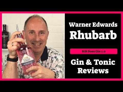 Warner Edwards Rhubarb Gin Review