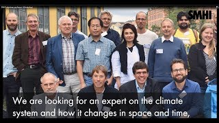 SMHI rekryterar professor i klimatologi