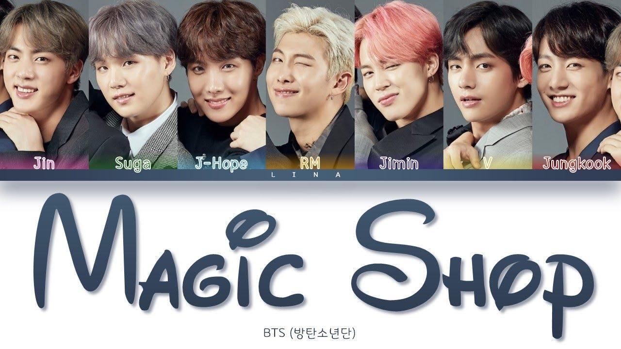 Download BTS (방탄소년단) - MAGIC SHOP (Color Coded Lyrics Eng/Rom/Han/가사)
