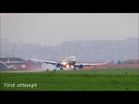 Aeroflot |ABORTED LANDING| Boeing 737-8LJ (VP-BRH) Belgrade [LYBE] Nikola Tesla, Serbia