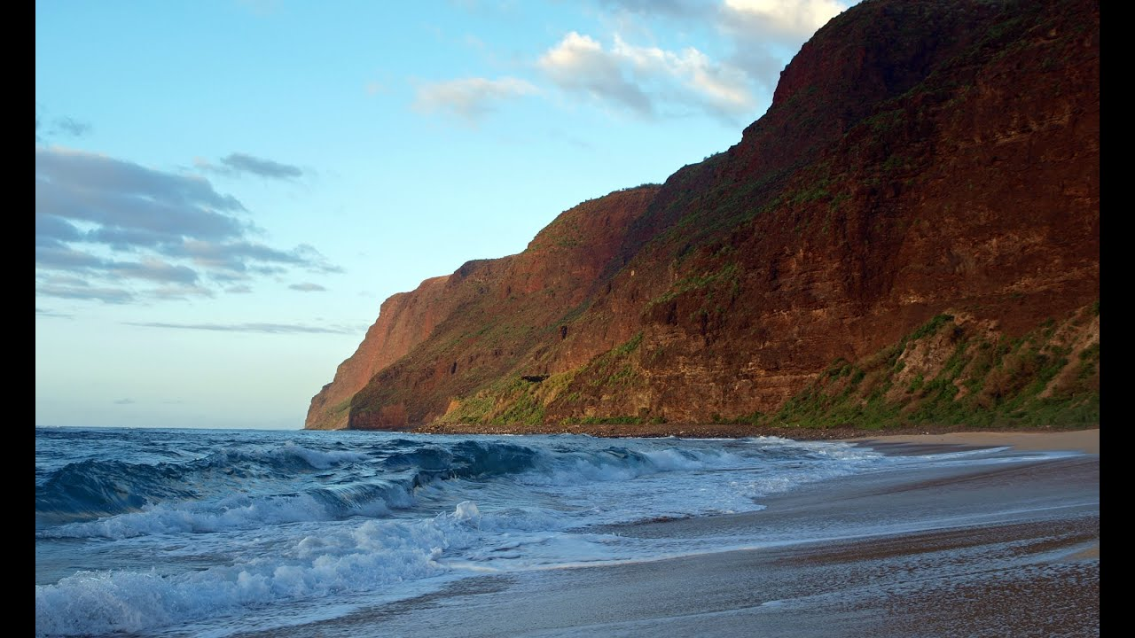 Polihale Beach Barking Sands Kauai Hawaii