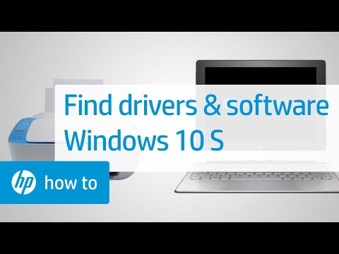 Find Drivers and Software for HP Products in Windows 10 S | HP Computers | HP