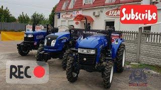 Фото Який трактор кращий Порівняння Jinma 3244 ДТЗ 5244 Донгфенг 244   китайські мінітрактори