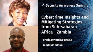 Cybercrime insights and mitigating strategies - Security Awareness Summit 2020