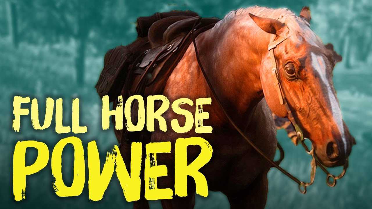 Red Dead Redemption 2 Horses Everything You Need To Know Youtube