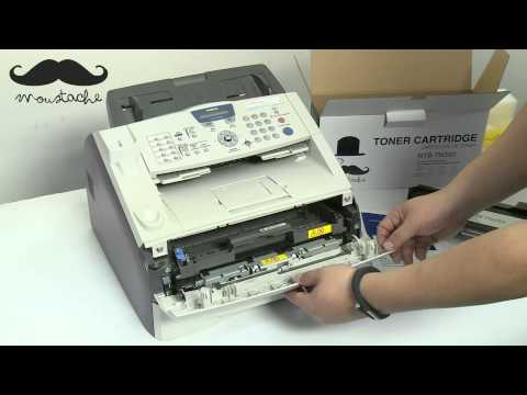 How to install Moustache TN350 toner cartridge for Brother IntelliFax 2820 - by 123InkCartridges