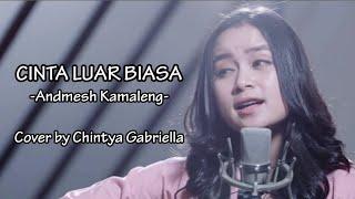 Gambar cover Andmesh Kamaleng - Cinta Luar Biasa (Cover Chintya Gabriella)Lyrics
