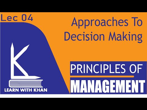 Decision Making Approach Urdu/Hindi | Rational Decision Making [Ultimate Guide For Management]
