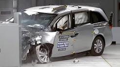 Minivan Crash Tests - The Good, Bad and the Ugly