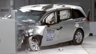 Minivan Crash Tests - The Good, Bad and the Ugly