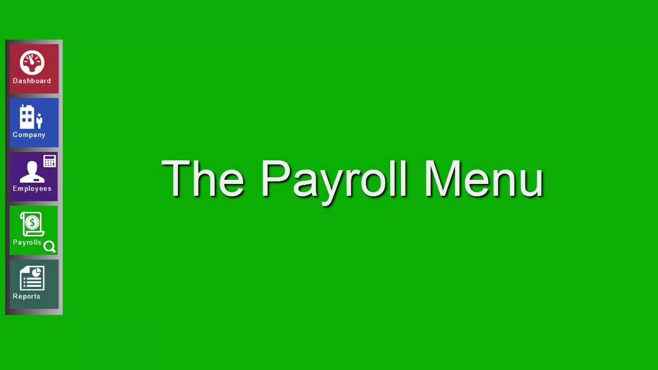 Evolution Payroll Demo