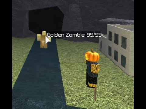 Roblox Games Zombie Tower Tower Battles New Zombies Golden Zombie Youtube