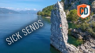 This Landing Makes You Want To Fall Off... | Climbing Daily Ep.1274