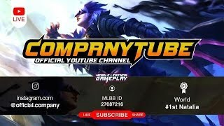 Mobile Legends Limit.Company Live 11/7 Push rank